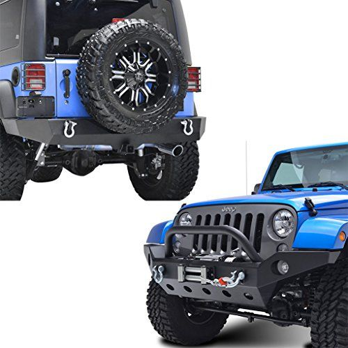 Jeep Wrangler JK Bumpers - Largest Selection & Lowest Prices!