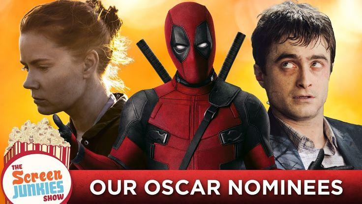 Screen Junkies 2016 Oscar Nominations: Our Academy Awards Picks