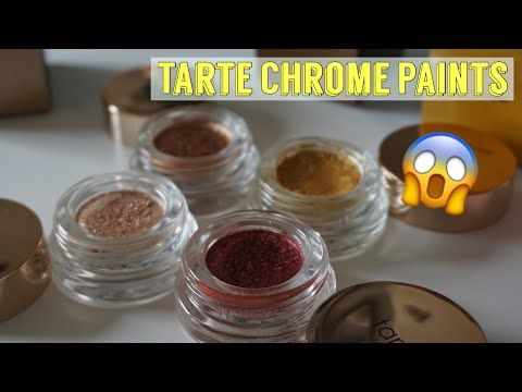 Swatches: Tarte Cosmetics Chrome Paint Shadow Pot http://cosmetics-reviews.ru/2018/02/11/swatches-tarte-cosmetics-chrome-paint-shadow-pot/