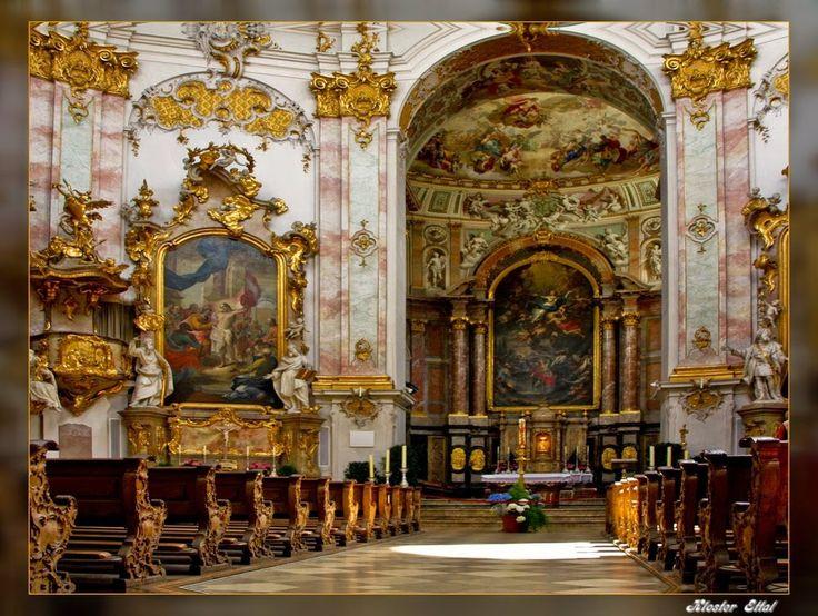 Kloster Ettal | Preparando a viagem: Oberammergau, Abadia Ettal e o Castelo de ...