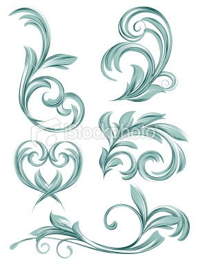 flora scroll design 15 credits