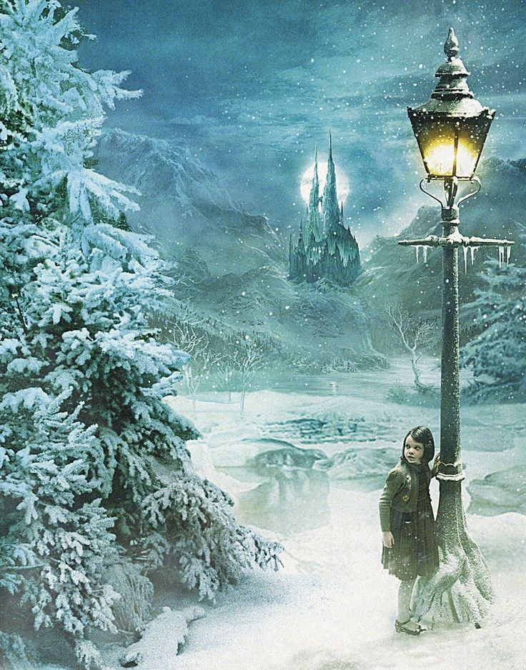 lamp post in Narnia.
