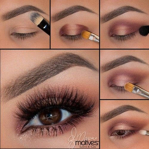 Pretty for bright brown eyes.