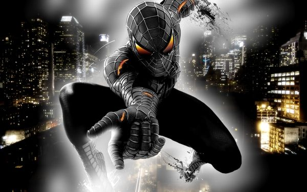 Spiderman Selective Coloring
