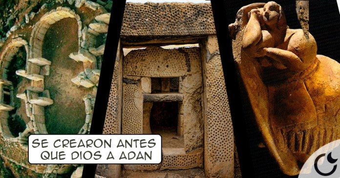Templos IMPOSIBLES de una religión PREHISTÓRICA anterior a Adán: Los templos de Hagar Qim en Malta