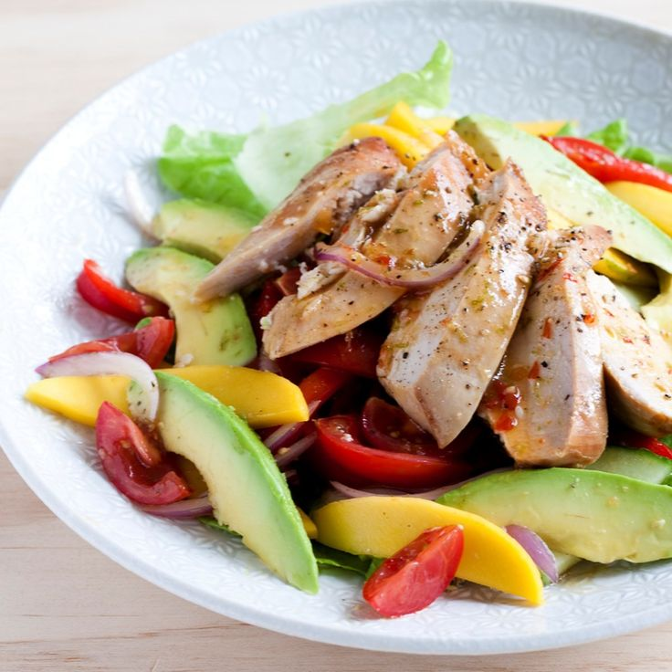 This is one of my go-to meals for a quick, simple and tasty weekend lunch. Smoked chicken, mango and avocado taste sublime together, with fresh crunchy vegetables and a sweet chilli citrus dressing. You can either buy smoked chicken or … Continued