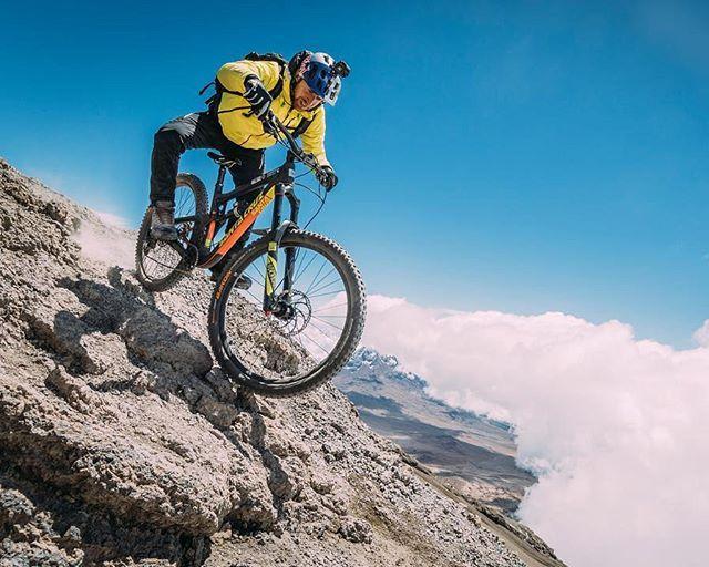 Downhill Biking On Mount Kilimanjaro By Danny Macaskill