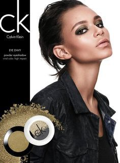 Calvin Klein, Beauty Cosmetic Ads, Cosmetic Campaign Ad, Black Models Beauty, Ad Campaigns