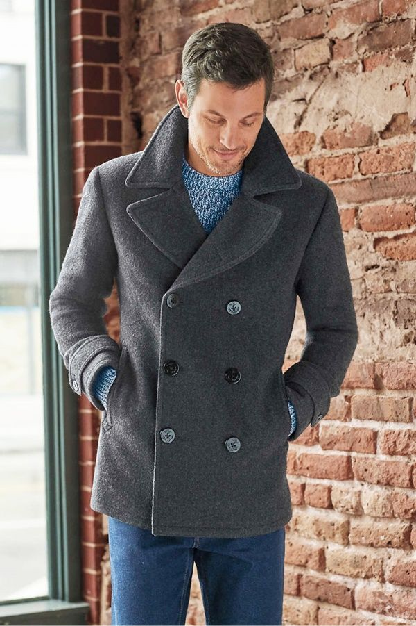 57a454b41df 55+ Dynamic And Fashionable Pea Coats For Men