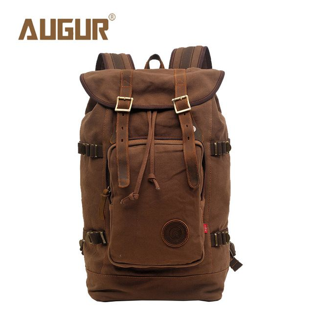 Check it on our site AUGUR Brand New Fashion Backpack Women Mens Designer Backpack Retro Canvas Leisure Laptop Backpack Men Shoulder Bag HT100277 just only $31.59 with free shipping worldwide  #backpacksformen Plese click on picture to see our special price for you