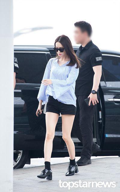 soshi-mylovejeti.blogspot.com: 24.6.16 YoonA @ Incheon Airport (to Beijing) _ Part 1