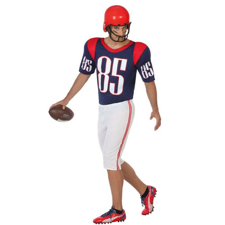 Disfraz Quarterback Fútbol Americano #carnaval #novedades2016