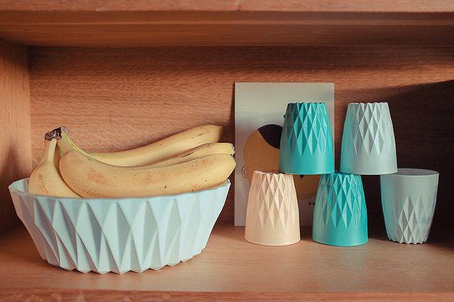 DIY, moderniser de la vaisselle en verre (peinture en spray pour graffiti mate)