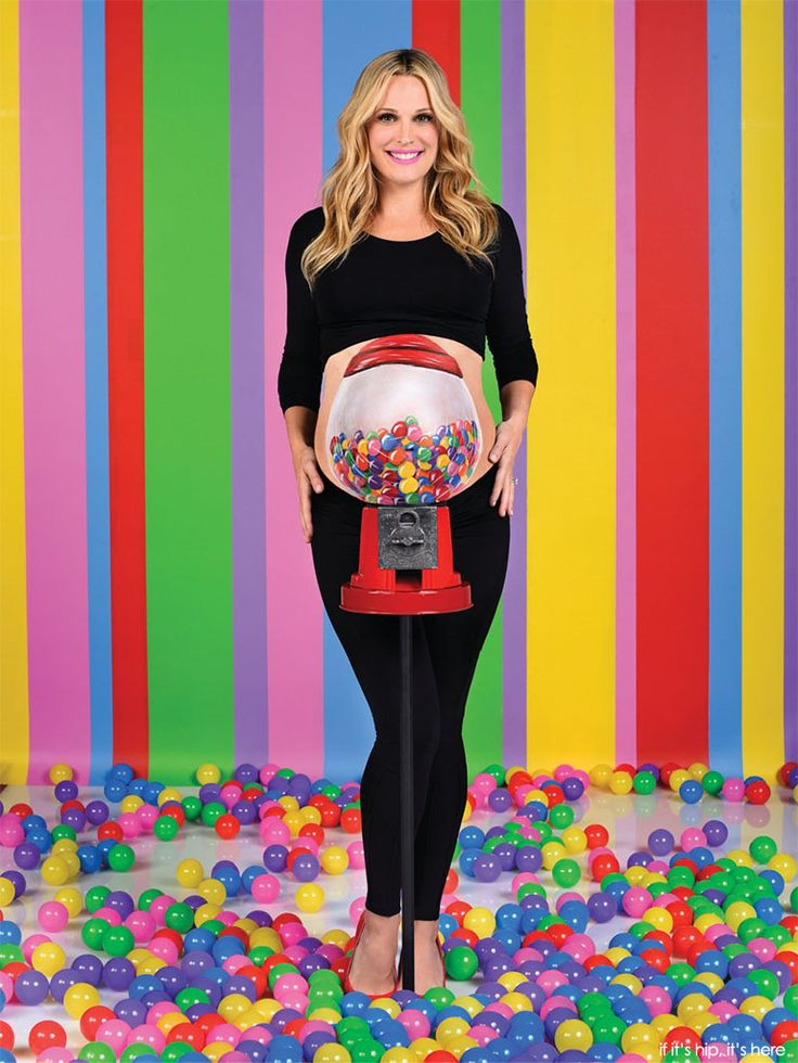The Belly Art Project - Painted Pregnant Bellies To Support Moms