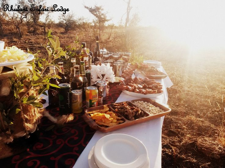 Lovely snacks in the bush - Madikwe Game Reserve, South Africa