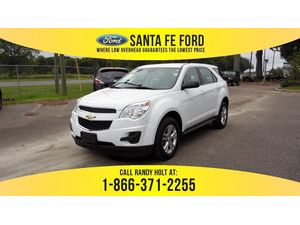 2014 Summit White Chevrolet Equinox LS 36462P
