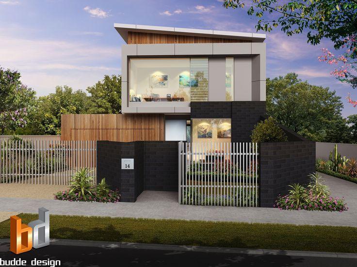 3D external Artist Impression, 3 Bedroom 2 level townhouse - Strathmore Victoria