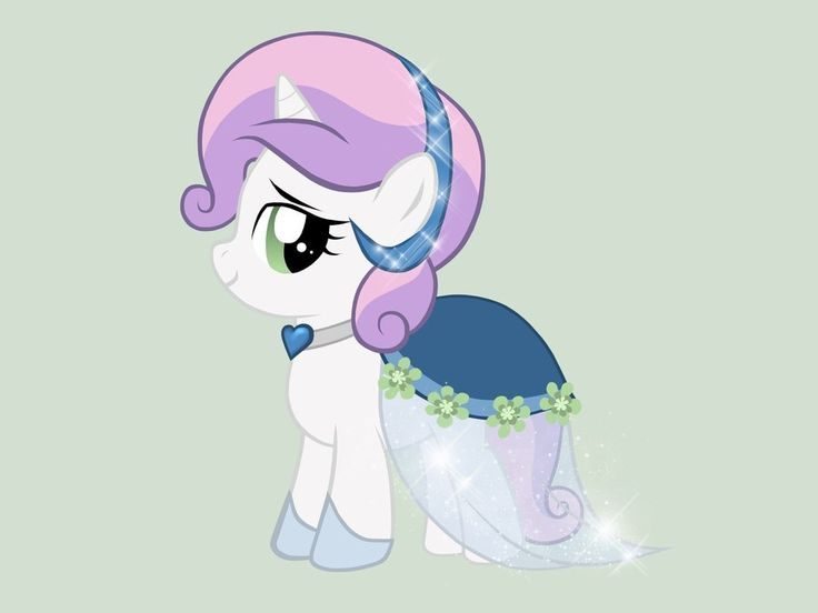 Sweetie Belle - Gala Dress by miesmauz.deviantart.com on @deviantART