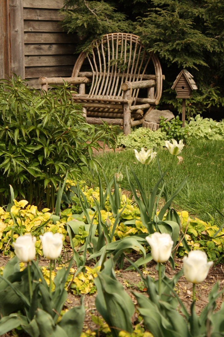 Primitive country gardens - Find This Pin And More On Sit With Me In The Garden