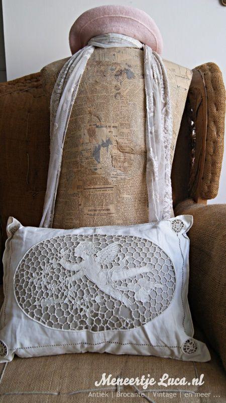 Frans kussen/ French pillow | New founds | meneertjeluca