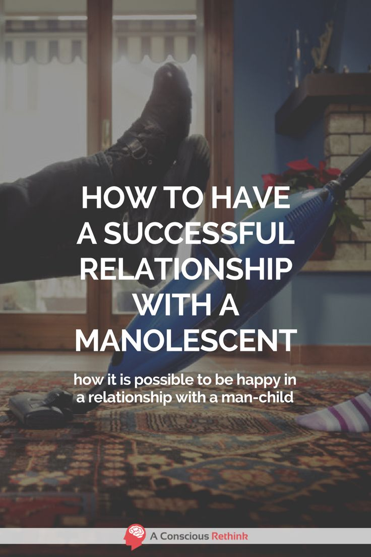 Can you have a long and happy relationship with a manolescent-type who will likely never grow up into a fully-fledged adult human? Here's the answer.  peter pan syndrome, relationship problems, relationship help, one side relationship, relationship struggles, broken relationship