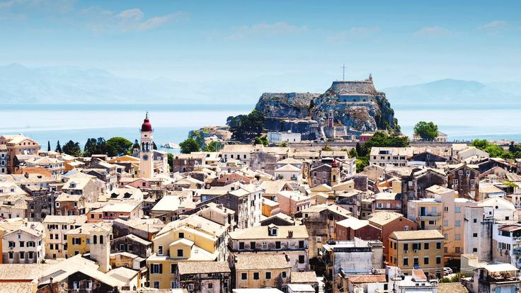 The Old Fortress, Corfu Town