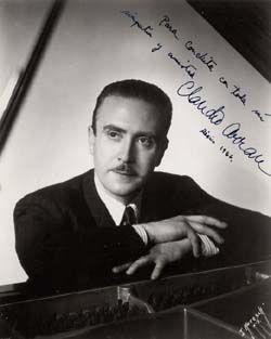 Claudio Arrau, Chilean Pianist