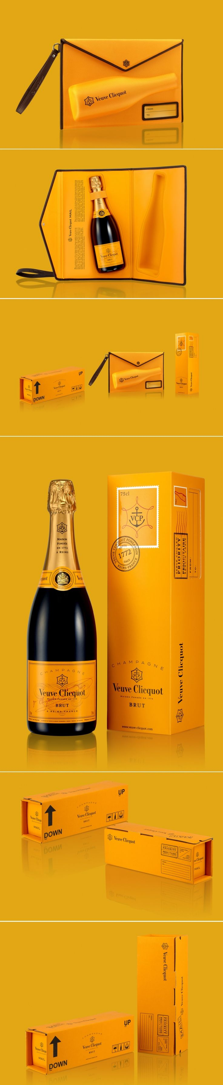 The Dieline Awards 2015: 1st Place Wine, Champagne- Clicquot Mail collection — The Dieline | Packaging & Branding Design & Innovation News