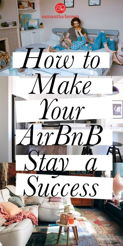 I love a good hotel, but sometimes I find the experience limiting. Why not stay in a house? Here's how to ensure your AirBnB stay is a success.