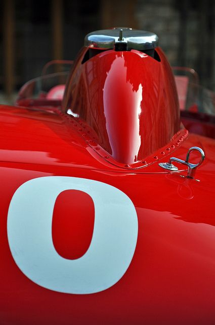 Ex - Juan Manuel Fangio 1956 Ferrari 290 MM #0626 No.600 (detail) - 2012 Windsor Concours of Elegance