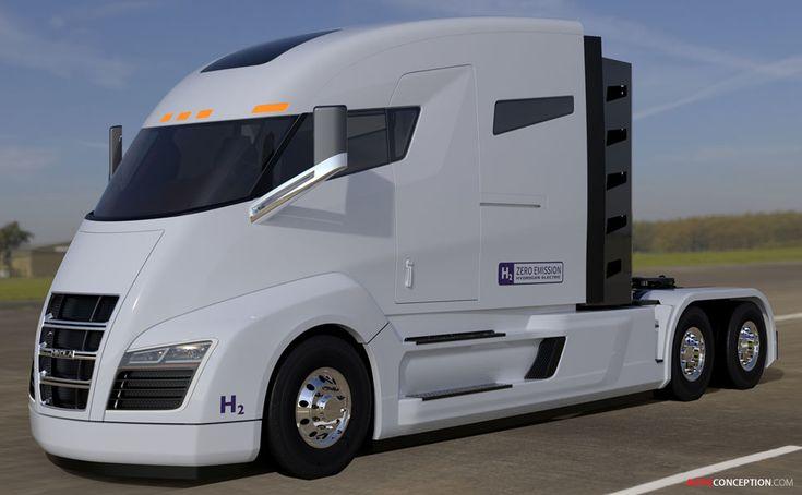 Nikola Motor Company Reveals Hydrogen-Powered Truck