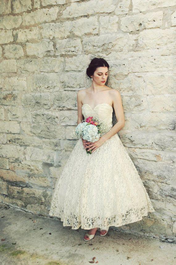486 best images about Tea Length Wedding Dresses on Pinterest