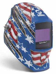 Miller Welding Helmet - Stars & Stripes III Digital Elite Lens 264852