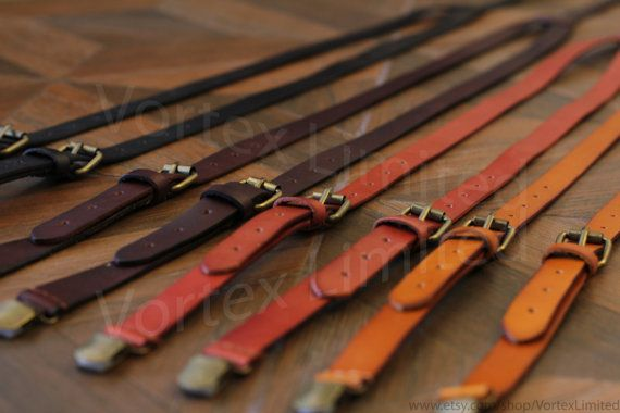 Handmade Mens Leather Suspenders  Rustic Wedding by VortexLimited, $38.99