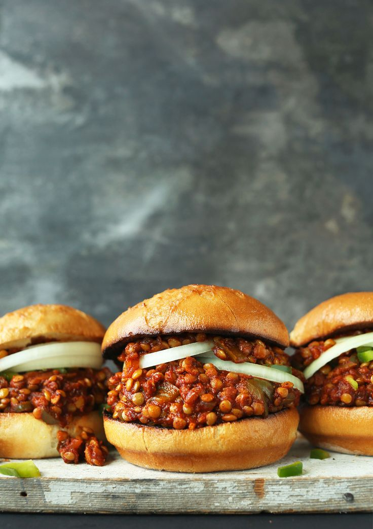Hearty Vegan Sloppy Joes made with fresh, simple ingredients, naturally sweetened, and require just 30 minutes! A savory, smoky, delicious plant-based meal!