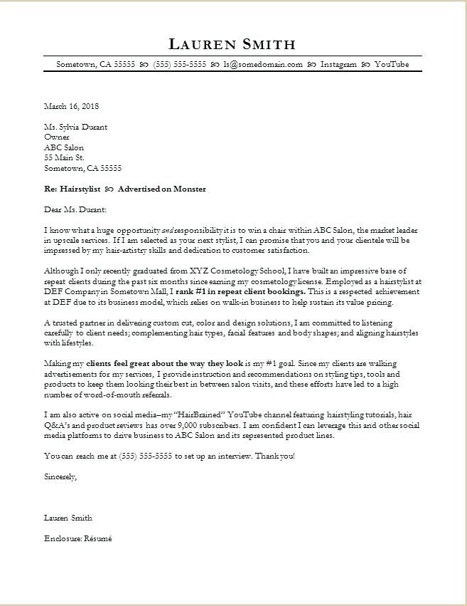 Cover Letter Template Mac | Cover Letter Template | Pinterest ...