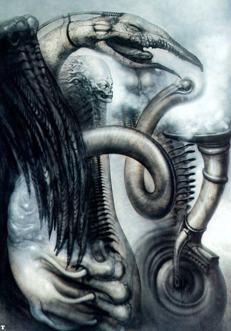 Giger- not sure of the title for this 1