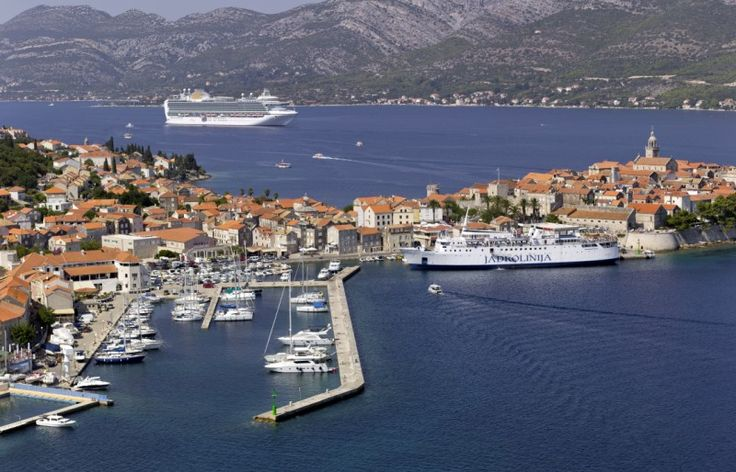 ACI Korčula ACI Marina Korčula, which offers an unforgettable view of the town ringed with centuries-old stone walls, has 159 berths and 16 dry berths.
