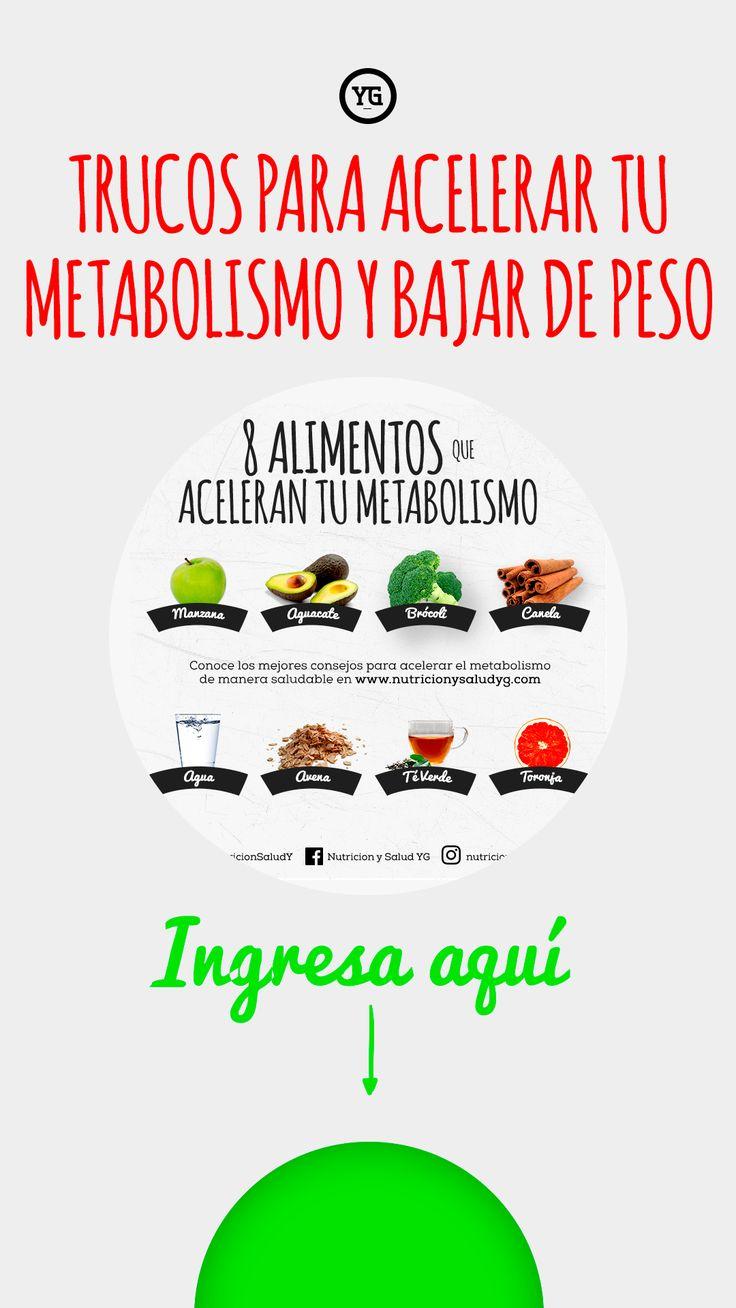 Hay enorme efectivo en Acelerar metabolismo