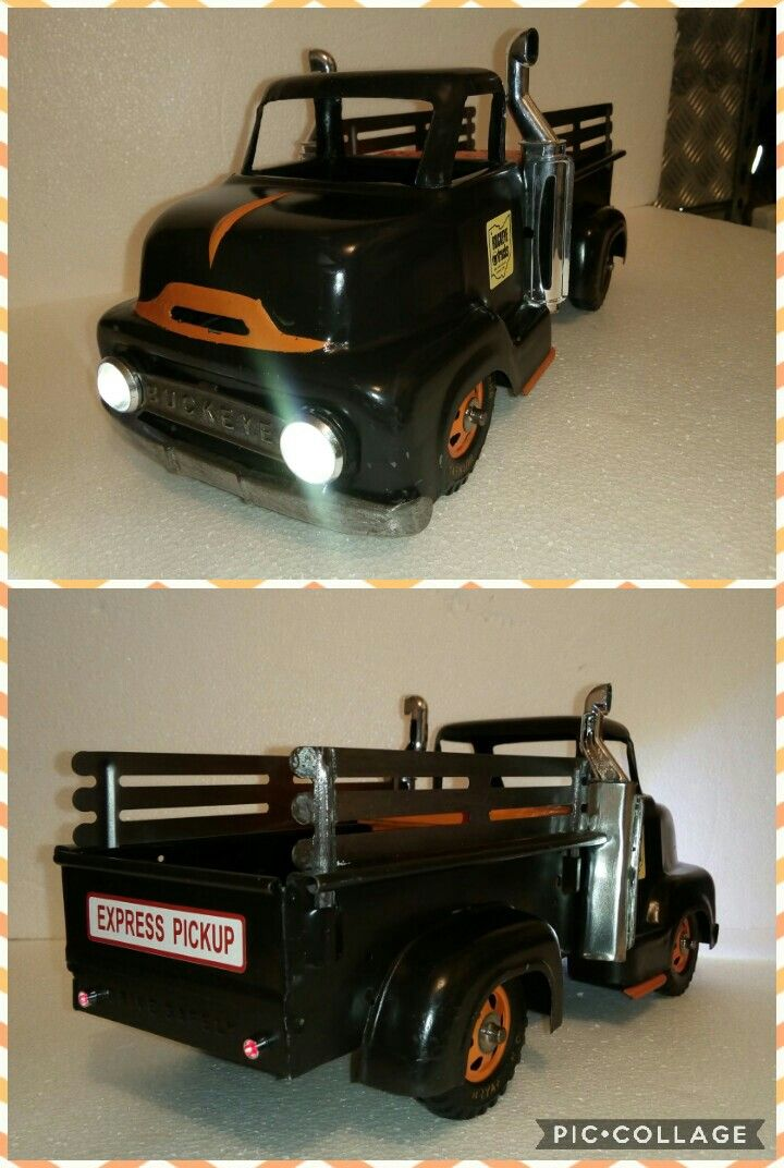 Custom Complete 1951 Buckeye Express Pickup Truck Electric Lights Alround Tonka Trucks