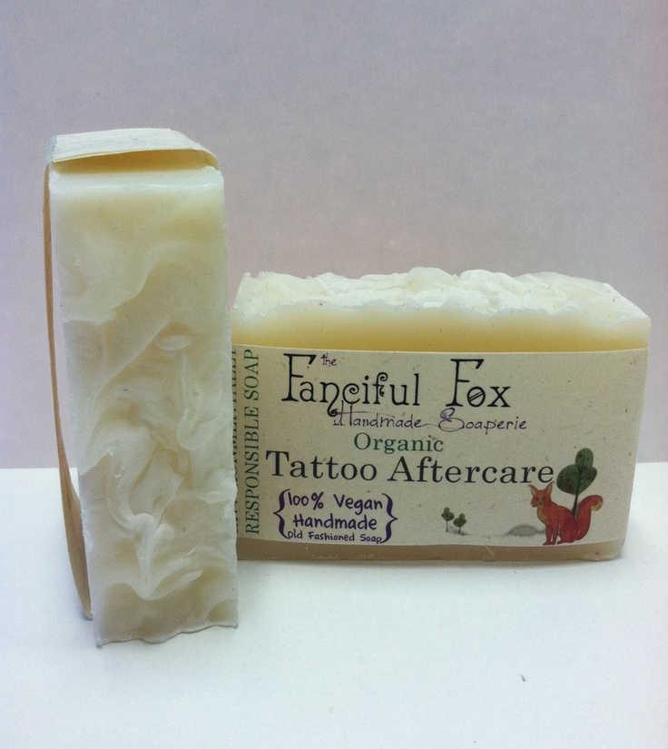 Organic Tattoo Aftercare Soap