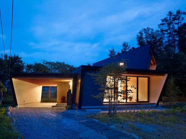 """From """"A Villa with a Farm by MDS"""" on Design Milk"""