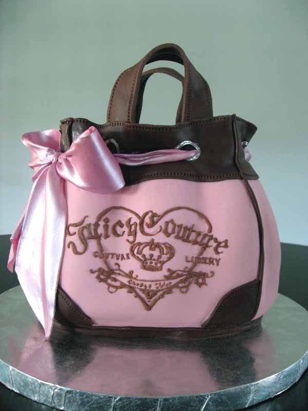 Juicy Couture pink cake!