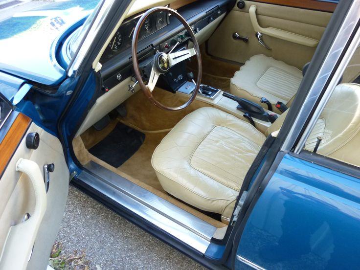 Rover P6 3500 V8 de 1972 avec 86 000 Kms d'origine - Automobiles de collection, classic cars, voitures anciennes, Vander automobiles, Aix-en-Provence.