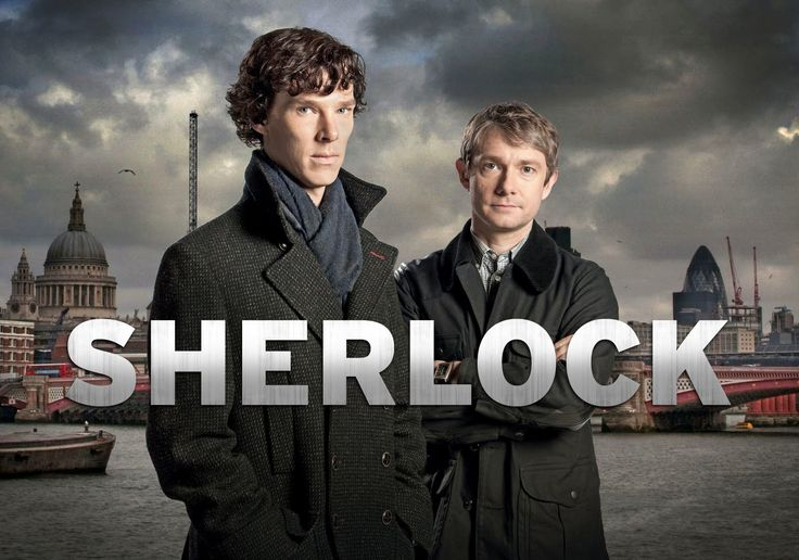 Sherlock the Series on BBC one! Lovin it!