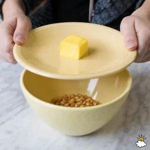 Aprende cómo hacer palomitas más baratas y más sanas con esta técnica de microondas!! - Cosas Caseras