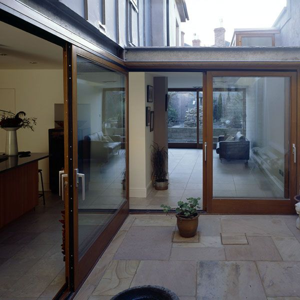This is achieved by creating a hideaway, or an internal courtyard, which surrounding rooms flow into