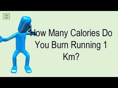 How Many Calories Do You Burn Running 1 Km? Calories