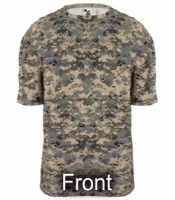 New Digital Camo Jersey by Badger Sport Style Number 4180