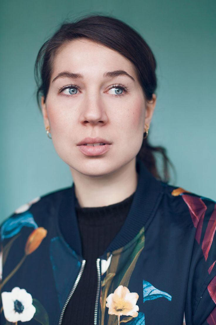 Actress and performance artist Sandra Pankoke.  Photo and edit: Sofie Kirkeby